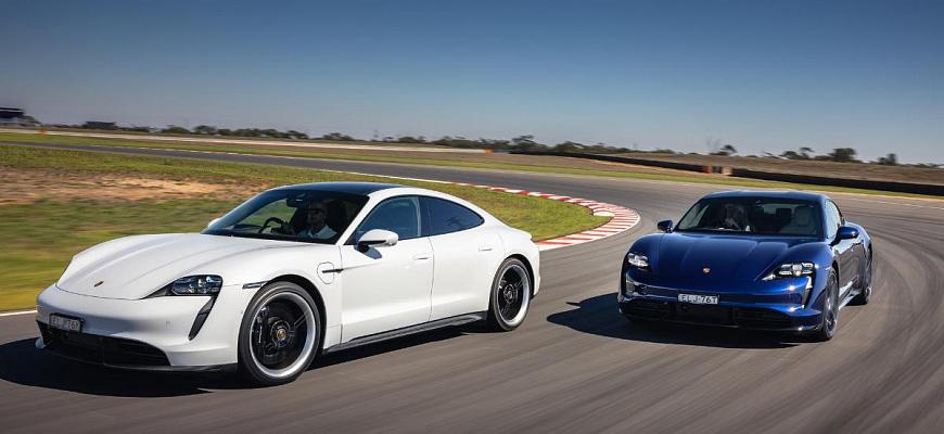 Электрический Porsche Taycan - спрос превышает предложение