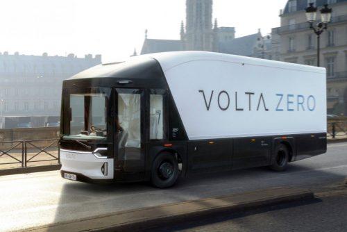 Электрический грузовик Volta