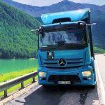 Mercedes eActros – последние испытания в горах