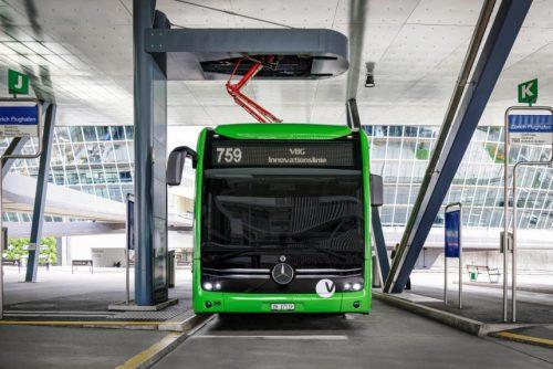 Mercedes eCitaro - электробус с ультрабыстрой зарядкой