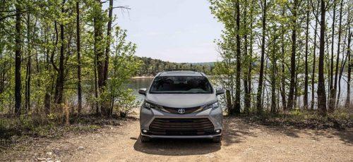 Минивэн Toyota Sienna в новой версии