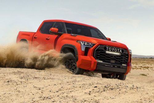 Пикап Toyota Tundra нового поколения