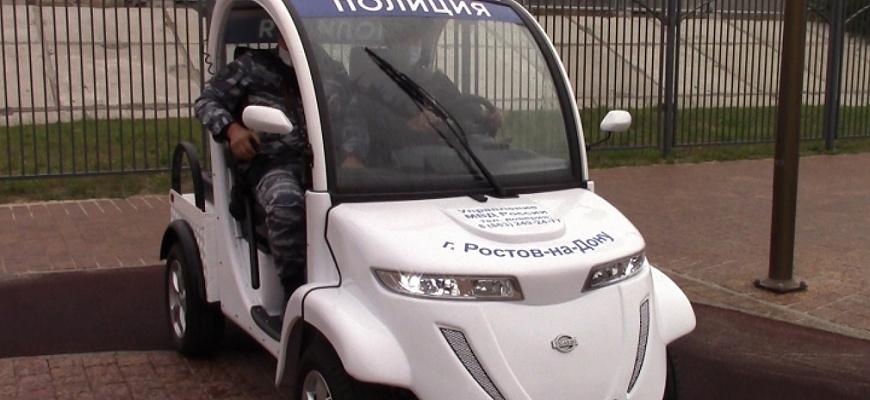 Полицейские из Ростова-на-Дону пересели на электрокары