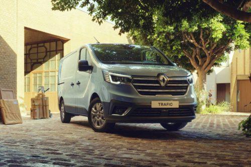 Renault Trafic - обновлены грузовые версии малотоннажника