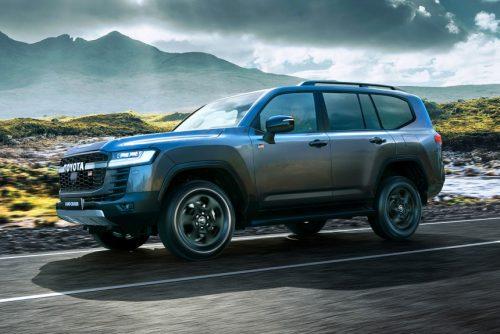 Toyota Land Cruiser 300 GR Sport уже в России