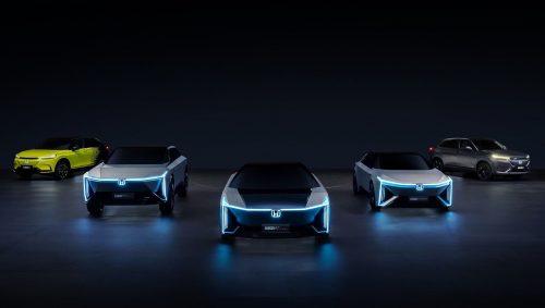 Honda - пять электромобилей из будущего