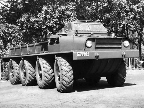 Советские машины-«многоножки» для нетипичных задач