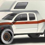 Toyota – новый внедорожный кемпер на базе Tacoma