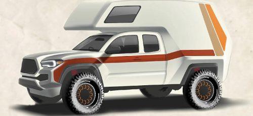 Toyota - новый внедорожный кемпер на базе Tacoma
