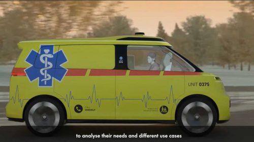 Volkswagen ID Buzz - беспилотная скорая помощь