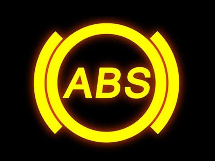 Значок ABS все чаще мигает в холодную погоду
