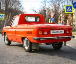 Редчайший пикап ЗАЗ-968МП