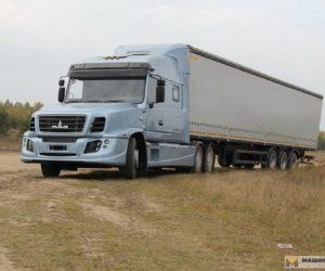 Советские дальнобойные грузовики