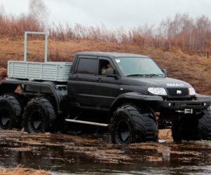 Необычные модификации УАЗ «Патриот»