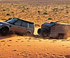 Внедорожный прицеп-автодом построили в Австралии