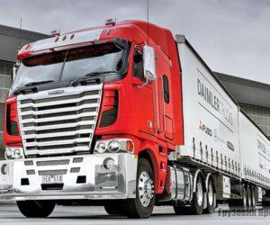 Уникальный грузовик Freightliner Argosy
