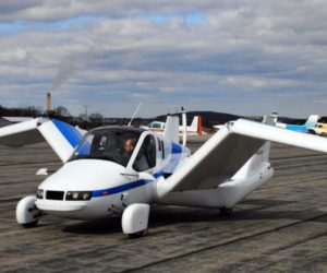 Летающие автомобили Terrafugia