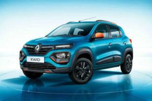 Бюджетный «паркетник» Renault Kwid