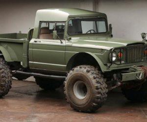 Пикап-ретро Kaiser Jeep M715 после тюнинга