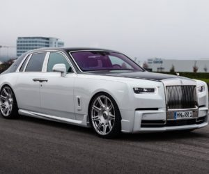 Rolls-Royce Phantom - 24-дюймовые диски и 5 секунд до сотни