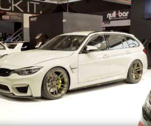 Единственный в мире универсал BMW M3 CS