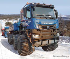 Вездеход КАМАЗ-6355 8х8 «Арктика»