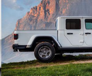 Новые версии Jeep Gladiator