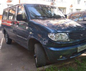 Редкий прототип микроавтобуса УАЗ