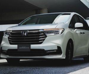 Минивэн Honda Odyssey обновили