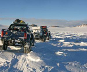 Побывавшие в Антарктиде автомобили