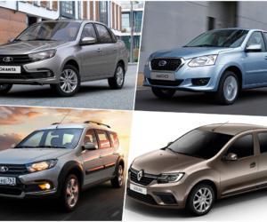 Рейтинг самых доступных новых автомобилей