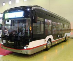 Электробусы из Вологды Алькор и Транс-Альфа