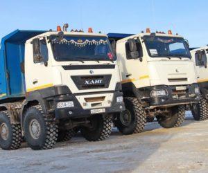 Новый российкий грузовик ХАНТ
