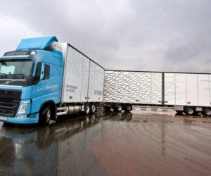 Газодизельный грузовик Volvo